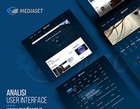 Mediaset - Analisi User Interface & Restyling