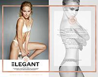 Alena in Elegant mag