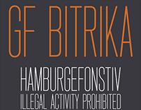 Bitrika font