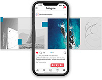 Instagram Post Design and Story for Yacht Charter