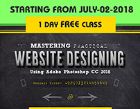 Web Designing Course Starting July 2, 2018