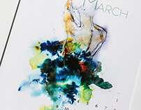 Water&Colors Calendar 2015