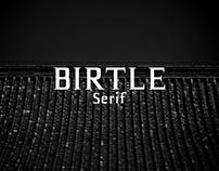 Birtle - Free Serif Font Demo