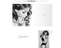 Makeup artist web design