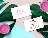 Branding for Beauty Blogger Helena Feofanov