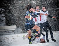 College Rugby + Snow