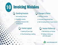 Top 10 invoicing mistakes to avoid