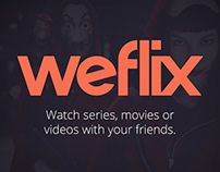 Weflix - Series, movies or videos with your friends.