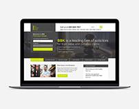 Bolt Burdon Kemp landing page responsive design