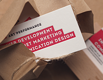 Art'Performance business cards