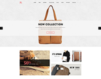 A-Store Ecommerce PSD Template