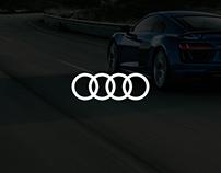 Audi Website Redesign Concept