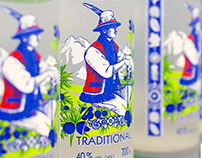 "Bottle for ""Goral Borovicka vodka"" by DanCo Decor"