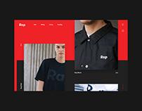 Rap Landing Page Layout / #365designdays