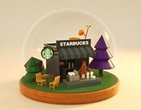 Starbucks、McDonald's、Sushi