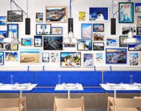 The Greek Restaurant Interior
