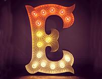 Letter Lamp series 2