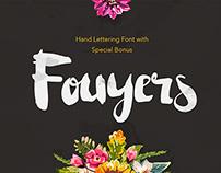 Fouyers Script + Bonus Badges & Vector