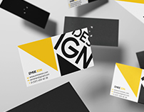 Kartvizit Çalışmam l My Business Card Project