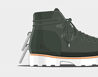 TNF Hiking Boot Concept