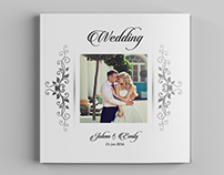 12x12 Wedding Album Template | 30 Pages