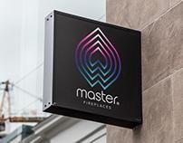 Master Fireplaces branding