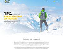 OnlySki Website Design