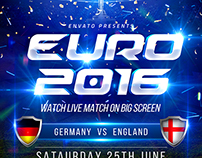 Euro Cup 2016 Flyer