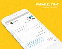 Parallel Chat UI/UX Concept Design
