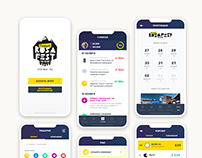 Mobile App Design - Rosafest The Game