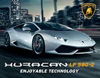 Lamborghini Huracan LP 580-2 Digital Brochure