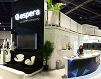 NAB 2016 Booth Design | Aspera