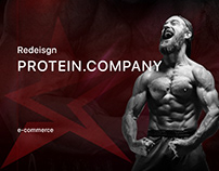 Redesign PROTEIN.COMPANY