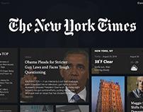 NYT tile UI concept