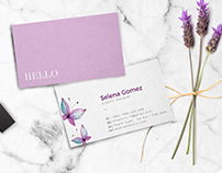 personalized busieness card