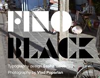 FINO BLACK - FREE GEOMETRIC FONT
