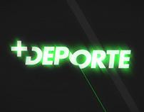 MAS DEPORTE - TV SHOW OPENER (NOT EMITTED)