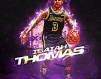 NBA ART | ISAIAH THOMAS