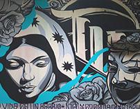Cholo Art Tribute Mural