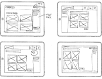 Sketching different interfaces