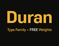 Duran - Type Family + FREE Weights