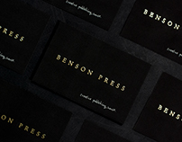 Benson Press — Personal Business Cards