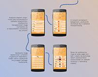 Interface app - Find & Meet