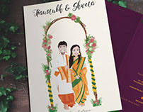 Shweta & Kaustubh (Wedding Invite)