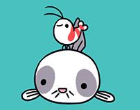 Shy Shrimp & Cory catfish