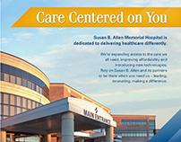 Susan B. Allen Memorial Hospital Campaigns