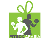 FitBox Arabia Logo Design