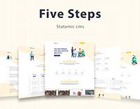 FiveSteps - Statamic cms