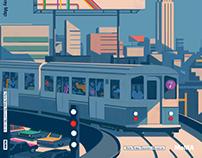 The Great New York Subway map • Moma 2018