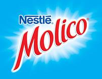 Identidade visual Nestlé Molico